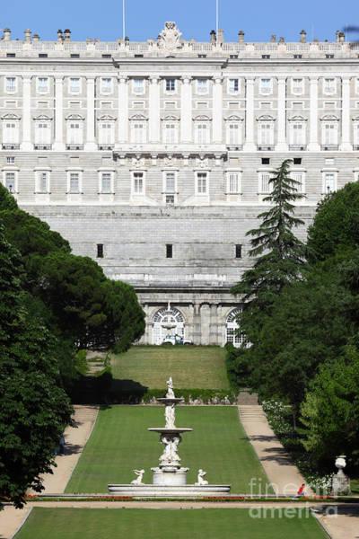 Photograph - Campo De Moro Gardens Madrid by James Brunker