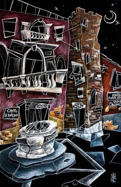 Wall Art - Painting - Campo San Boldo - Arte Moderna Contemporanea Di Venezia by Arte Venezia