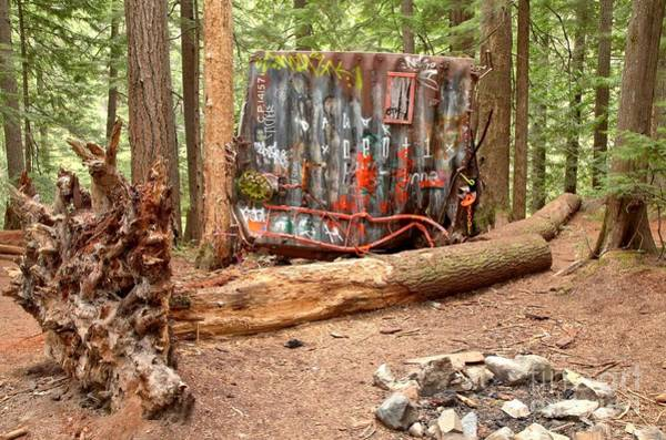 Photograph - Campsite Near A Train Wreck by Adam Jewell