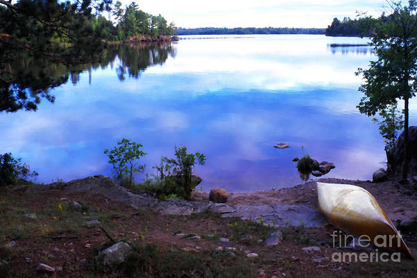 Bwcaw Photograph - Campsite Serenity by Thomas R Fletcher