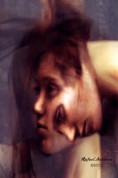 Digital Art - Can Not Shake You by Rafael Salazar
