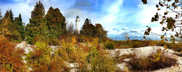 Cana Island Wall Art - Photograph - Cana Island Lighthouse Wi by Jeff Klingler