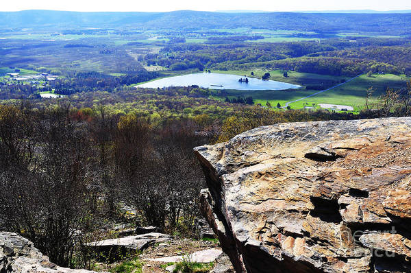 Timberline Photograph - Canaan Valley From Valley View Trail by Thomas R Fletcher