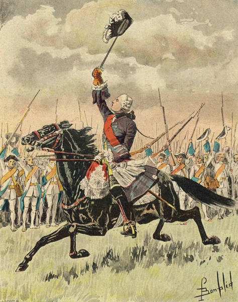 Wall Art - Drawing - Canada  Battle Of Sainte-foye Le by Mary Evans Picture Library