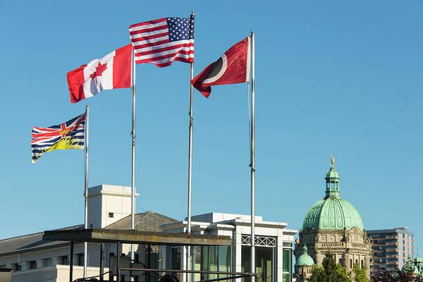 Legislature Photograph - Canada, British Columbia, Victoria by Trish Drury