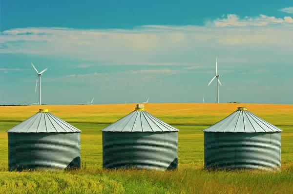 Bin Photograph - Canada, Manitoba, Somerset by Jaynes Gallery