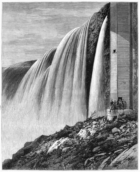 Painting - Canada Niagara Falls by Granger
