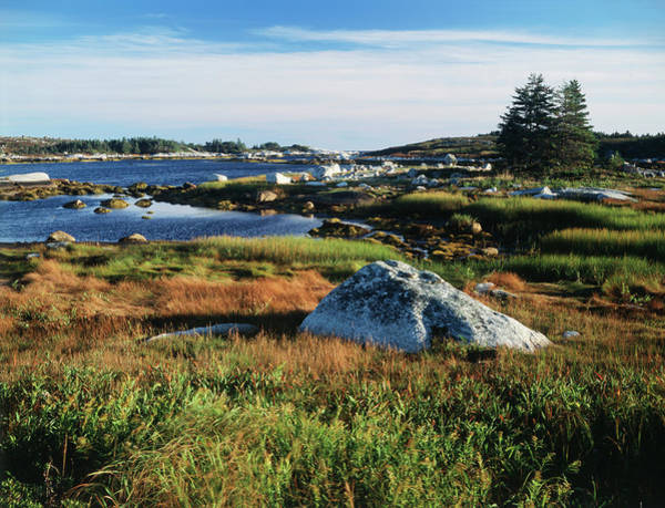Atlantic Canada Wall Art - Photograph - Canada, Nova Scotia, View Of Sea by Greg Probst