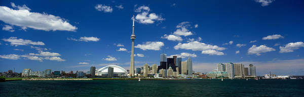 Cn Tower Photograph - Canada, Ontario,toronto by Panoramic Images