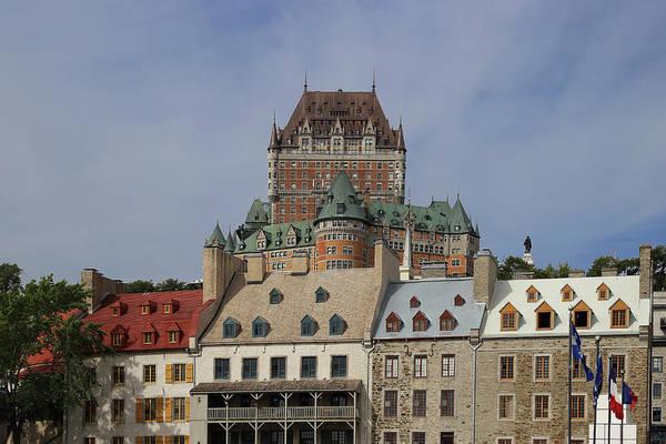 Quebec Photograph - Canada, Quebec City, Chateau Frontenac by Buena Vista Images