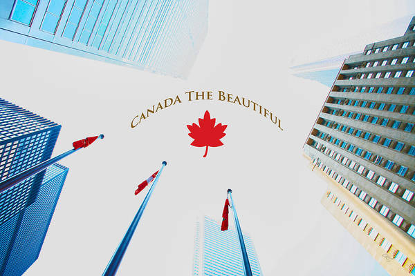 Photograph - Canada The Beautiful - Toronto Sky by Ben and Raisa Gertsberg
