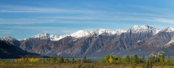 Wall Art - Photograph - Canada, Yukon, Panoramic Of St by Jaynes Gallery