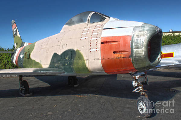 Photograph - Canadair Sabre Qf-86h by Gregory Dyer