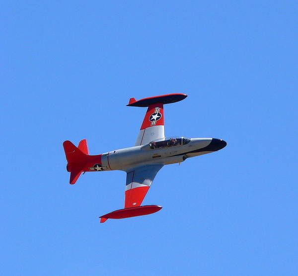Photograph - Canadair Shooting Star Ct133 by Jeff Lowe
