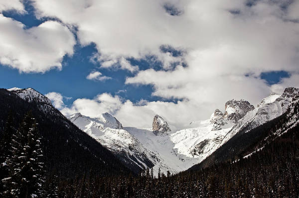 Bugaboo Photograph - Canadian Bugaboos In Winter by Imaginegolf