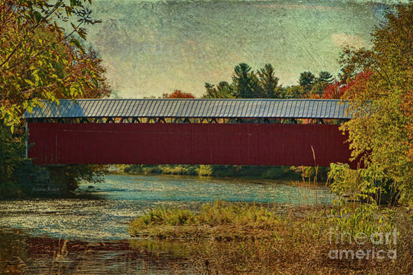 Photograph - Canadian Covered Bridge by Deborah Benoit