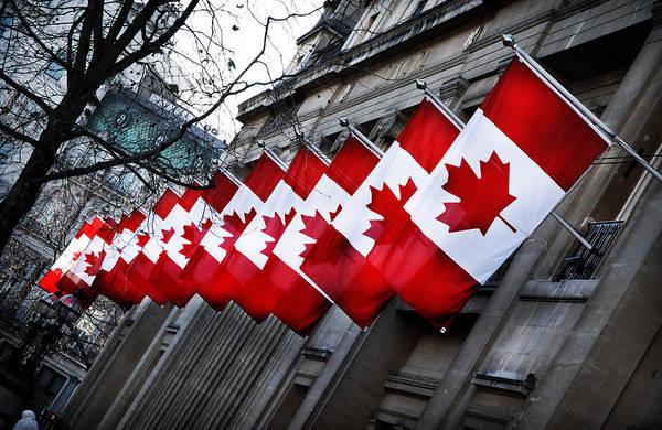 Wall Art - Photograph - Canadian Embassy London by Mark Rogan