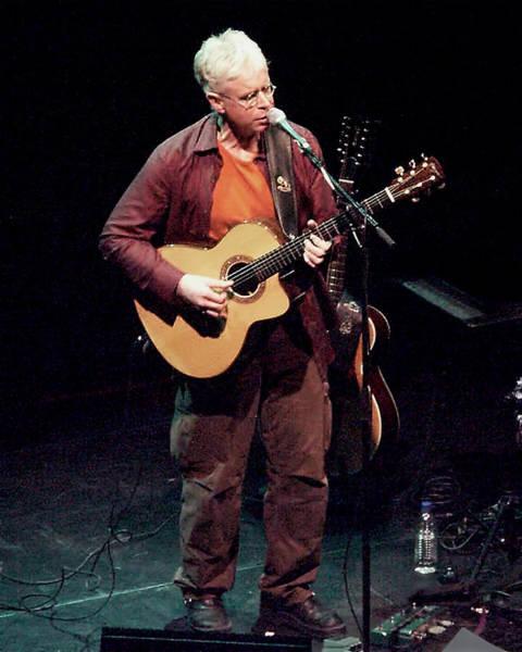 Photograph - Canadian Folk Rocker Bruce Cockburn In 2002 by Randall Nyhof