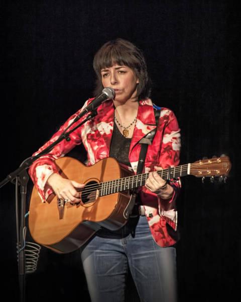 Photograph - Canadian Folk Singer Lynn Miles by Randall Nyhof
