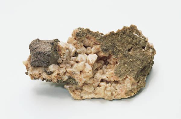 Geological Photograph - Canadian Gmelinite Zeolite Crystals by Dorling Kindersley/uig
