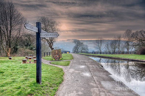 Wall Art - Photograph - Canal Directions by Adrian Evans
