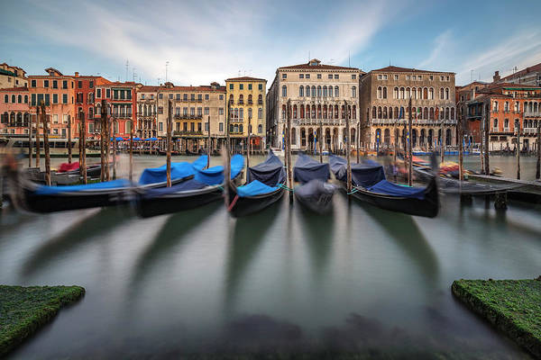 Parking Photograph - Canal Grande by Alexander Sch?nberg