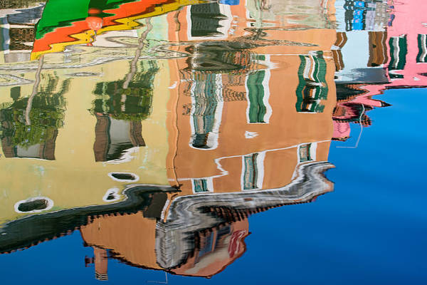 Photograph - Canal Reflection by Michael Blanchette