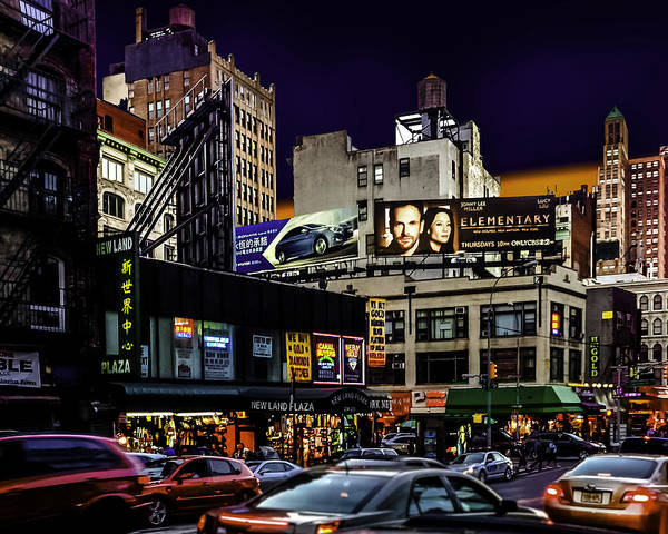 Wall Art - Photograph - Canal Street by Frank Savarese