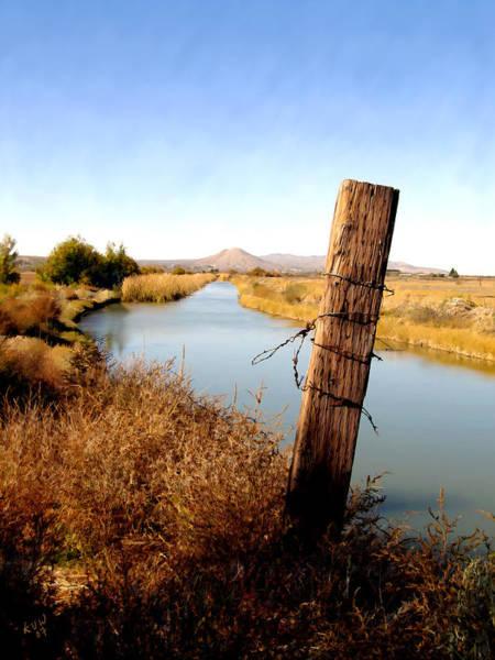 Photograph - Canal View  Mesilla by Kurt Van Wagner