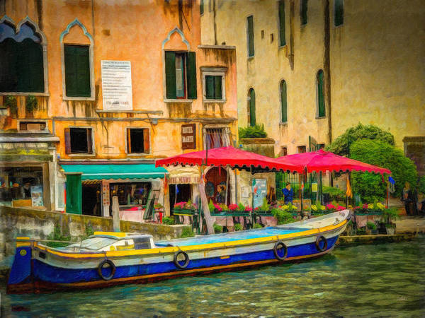 Painting - Canale Grande Itl3380 by Dean Wittle