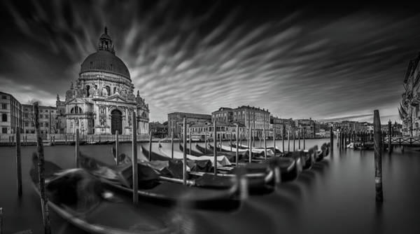 Cathedral Photograph - Canale Grande by Sven Kohnke