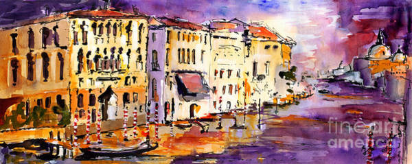 Painting - Canale Grande Venice Italy by Ginette Callaway