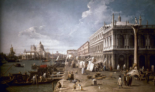 Painting - Canaletto Venice by Granger