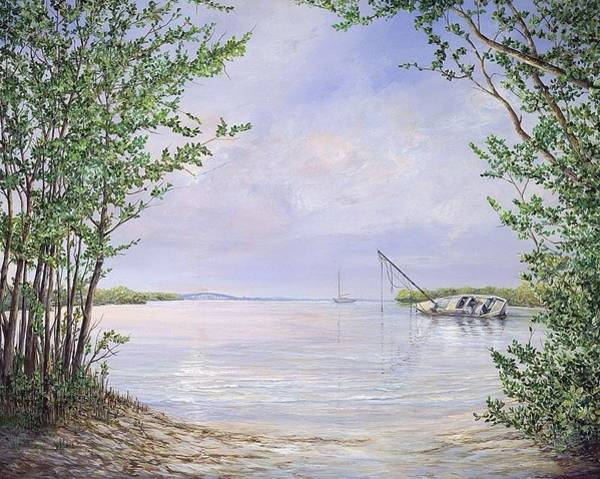 Wall Art - Painting - Canaveral Cove by AnnaJo Vahle