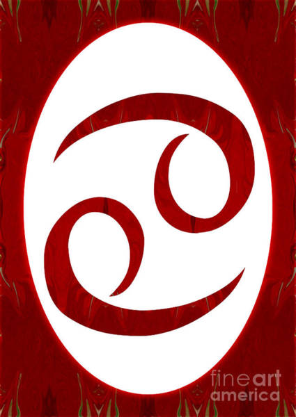 Digital Art - Cancer And Root Chakra Abstract Spiritual Artwork By Omaste Witk by Omaste Witkowski