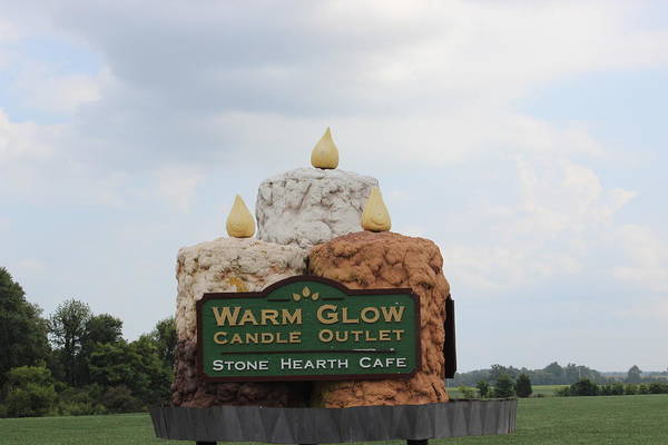 Photograph - Candle Outlet  by John Mathews