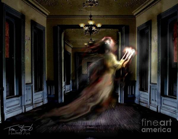 Victorian House Digital Art - Candelabra by Tom Straub