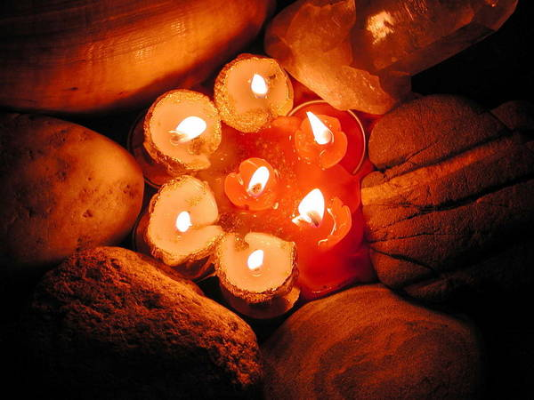 Photograph - Candle Light by Colette V Hera  Guggenheim