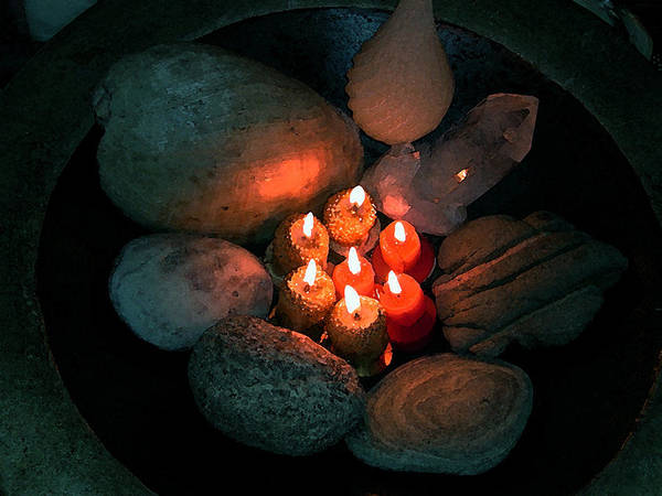 Photograph - Candle Meet by Colette V Hera  Guggenheim