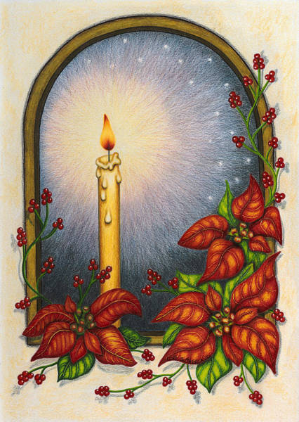 Painting - Candlelight by Lori Sutherland