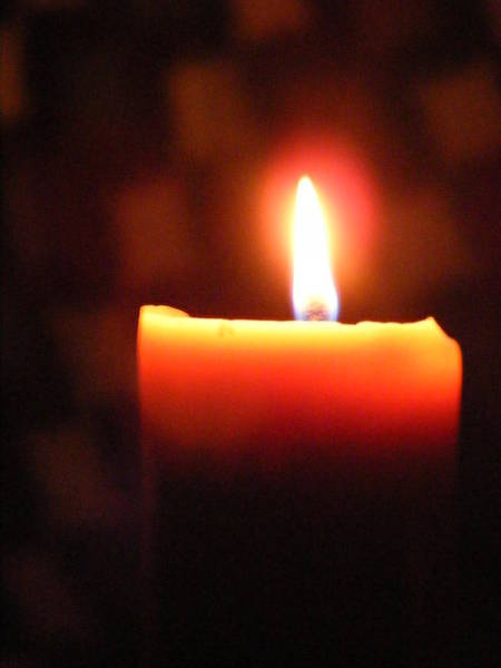 Photograph - Candlelight by Michelle Hoffmann