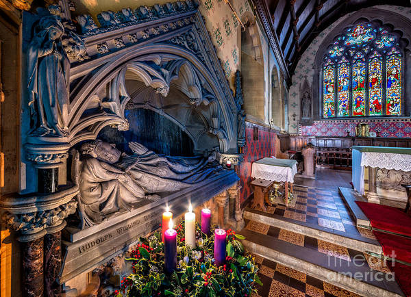 Franciscan Photograph - Candles At Christmas by Adrian Evans