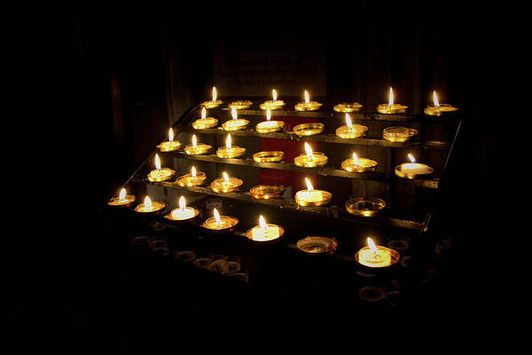 Photograph - Candles To Remember  by Lucinda Walter