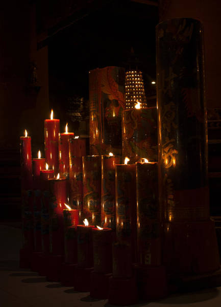 Photograph - Candles With A Breeze by Miguel Winterpacht
