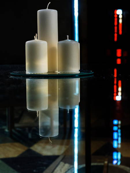 Photograph - Candles Of Unity by Stephen Barrie