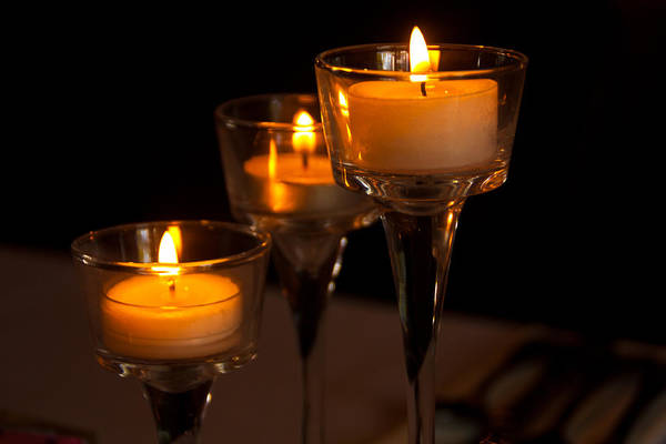 Photograph - Candles by Pat Moore