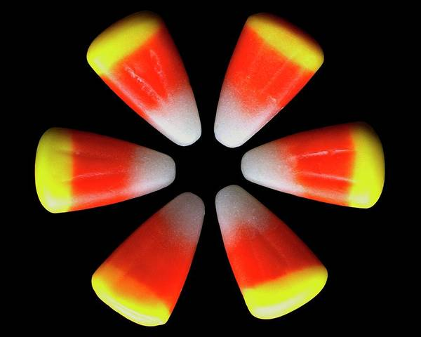 Sweet Photograph - Candy Corn by Romulo Yanes