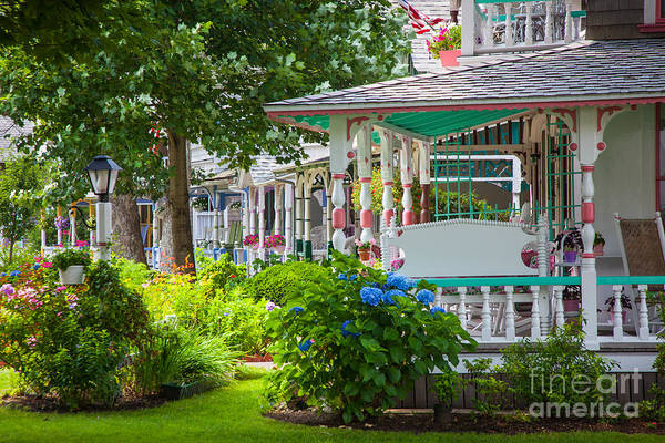Photograph - Candy Cottages In Oak Bluffs by Susan Cole Kelly