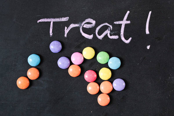 Sweeties Photograph - Candy Treat by Tom Gowanlock