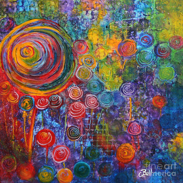 Painting - Candyland by Claire Bull